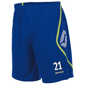 STANNO PISA SHORT DEEP BLUE-NEON YELLOW L