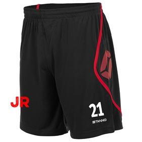 STANNO PISA SHORT JR BLACK-RED 116 CL