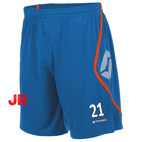 STANNO PISA SHORT JR BLUE-SHOCKING ORANGE 116 CL