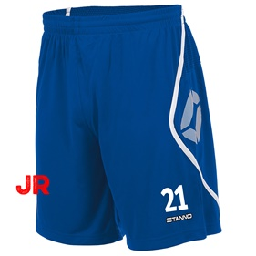STANNO PISA SHORT JR ROYAL-WHITE 116 CL