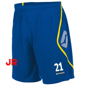 STANNO PISA SHORT JR ROYAL-YELLOW 116 CL