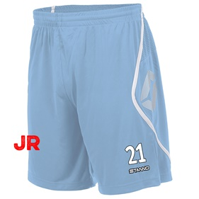 STANNO PISA SHORT JR SKY BLUE-WHITE 116 CL