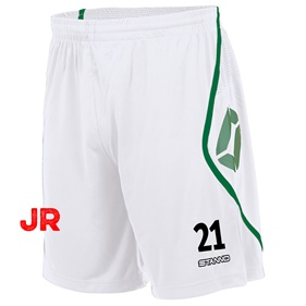 STANNO PISA SHORT JR WHITE-GREEN 116 CL