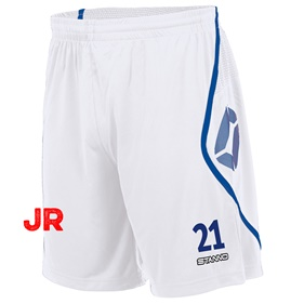 STANNO PISA SHORT JR WHITE-ROYAL 116 CL