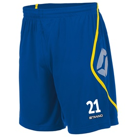 STANNO PISA SHORT ROYAL-YELLOW L