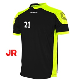 STANNO CAMPIONE JR SHIRT BLACK-NEON YELLOW 116 CL