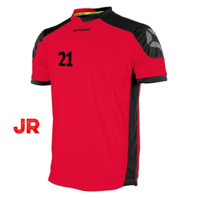 STANNO CAMPIONE JR SHIRT RED-BLACK 116 CL