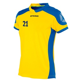 STANNO CAMPIONE SHIRT WN´S YELLOW-ROYAL L