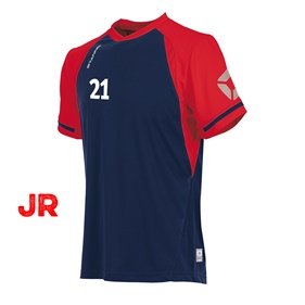 STANNO LIGA JR SHIRT NAVY-RED 116 CL