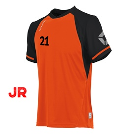 STANNO LIGA JR SHIRT ORANGE-BLACK 116 CL