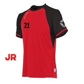 STANNO LIGA JR SHIRT RED-BLACK 116 CL