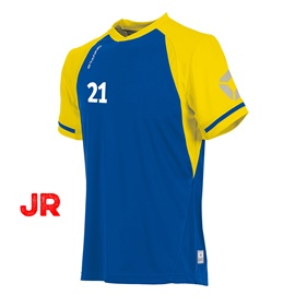 STANNO LIGA JR SHIRT ROYAL-YELLOW 116 CL