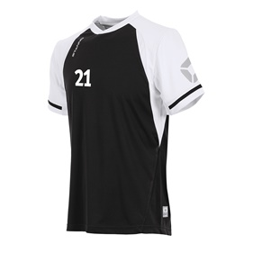 STANNO LIGA SHIRT BLACK-WHITE L