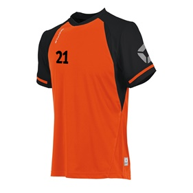 STANNO LIGA SHIRT ORANGE-BLACK L