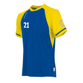 STANNO LIGA SHIRT ROYAL-YELLOW L