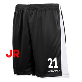 STANNO MILAN JR SHORTS BLACK-WHITE 116 CL