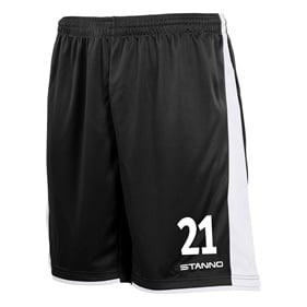 STANNO MILAN SHORTS BLACK-WHITE L