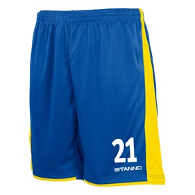 STANNO MILAN SHORTS ROYAL-YELLOW L