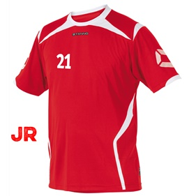 STANNO TORINO JR SHIRT RED-WHITE 116 CL