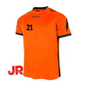STANNO DRIVE TRÖJA ORANGE-BLACK JR 116 CL