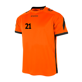 STANNO DRIVE TRÖJA ORANGE-BLACK L