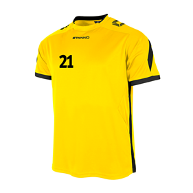 STANNO DRIVE TRÖJA YELLOW-BLACK L