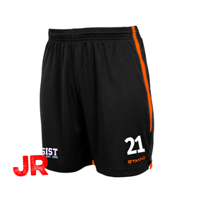 STANNO FOCUS SHORTS BLACK-ORANGE JR 116 CL