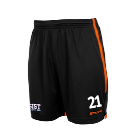 STANNO FOCUS SHORTS BLACK-ORANGE L