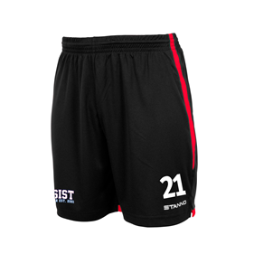 STANNO FOCUS SHORTS BLACK-RED L