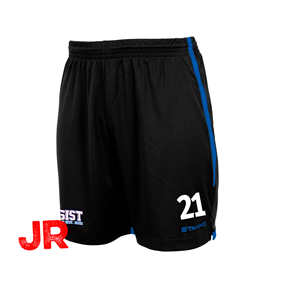 STANNO FOCUS SHORTS BLACK-ROYAL JR 116 CL