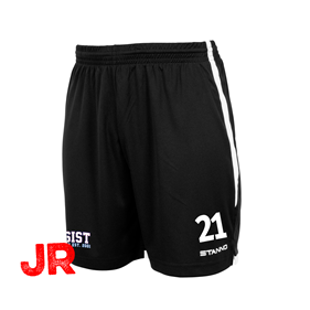 STANNO FOCUS SHORTS BLACK-WHITE JR 128 CL