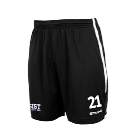 STANNO FOCUS SHORTS BLACK-WHITE L