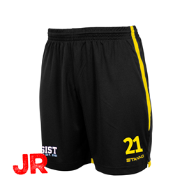STANNO FOCUS SHORTS BLACK-YELLOW JR 128 CL