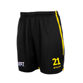 STANNO FOCUS SHORTS BLACK-YELLOW L