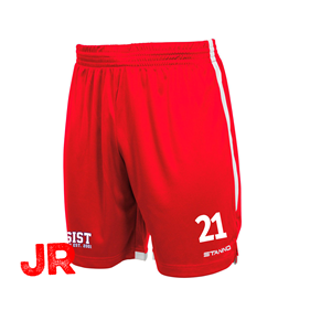 STANNO FOCUS SHORTS RED-WHITE JR 116 CL