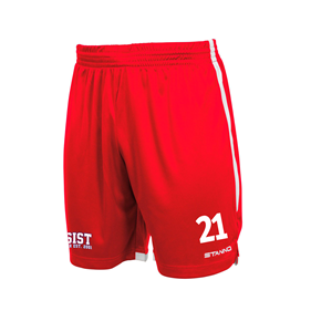 STANNO FOCUS SHORTS RED-WHITE L