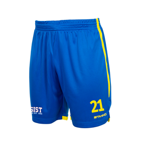 STANNO FOCUS SHORTS ROYAL-YELLOW L