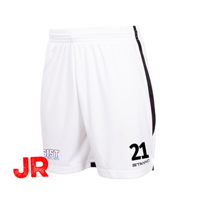 STANNO FOCUS SHORTS WHITE-BLACK JR 116 CL