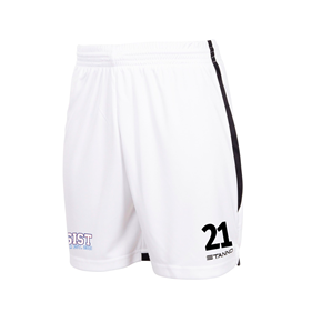 STANNO FOCUS SHORTS WHITE-BLACK L