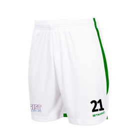 STANNO FOCUS SHORTS WHITE-GREEN L