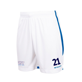 STANNO FOCUS SHORTS WHITE-ROYAL L