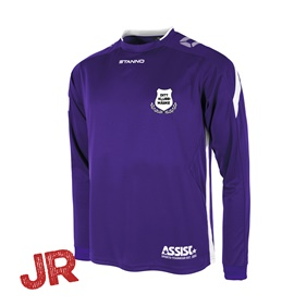 DRIVE MATCHTRÖJA LS PURPLE-WHITE JR 116 CL