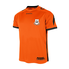 DRIVE MATCHTRÖJA SS ORANGE-BLACK L