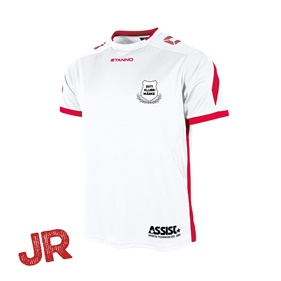 DRIVE MATCHTRÖJA SS WHITE-RED JR 116 CL