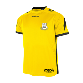 DRIVE MATCHTRÖJA SS YELLOW-BLACK L