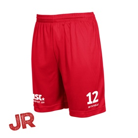 STANNO FIELD MATCHSHORTS RED JR 128 CL