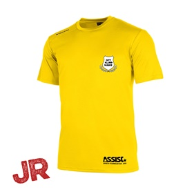 STANNO FIELD MATCHTRÖJA SS YELLOW JR 128 CL