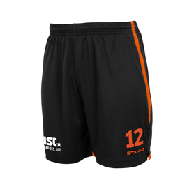 STANNO FOCUS MATCHSHORTS BLACK-ORANGE L