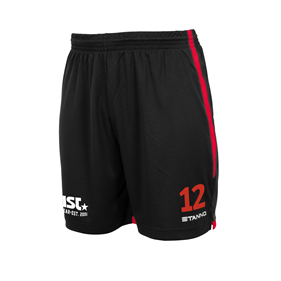STANNO FOCUS MATCHSHORTS BLACK-RED L