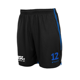 STANNO FOCUS MATCHSHORTS BLACK-ROYAL L